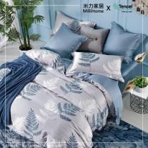 枕頭套【尊爵天絲】即刻永恆 ●53%萊賽爾天絲 + 47%3M科技吸濕排汗纖維●薄床包●米力家居●台灣製造●MIT